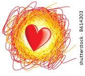 heart | Shutterstock .eps vector #8614303
