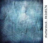 Blue Texture Grunge Background