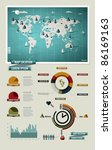 Set Elements Of Infographics....