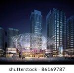3d business building | Shutterstock . vector #86169787