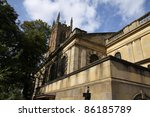 derby cathedral  small in... | Shutterstock . vector #86185789