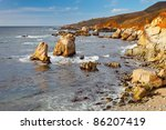 big sur pacific ocean coast | Shutterstock . vector #86207419
