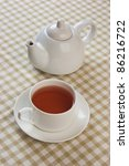 morning tea on the background...   Shutterstock . vector #86216722