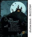 halloween series. halloween ... | Shutterstock . vector #86221564