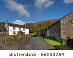 Lakeland Farm  Cumbria  England