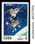cuba   circa 1967  a stamp... | Shutterstock . vector #86257006
