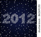 new years or graduation sign... | Shutterstock .eps vector #86269150