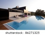 modern house | Shutterstock . vector #86271325