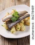 Pan Fried Trout With Potatoes