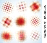 spotted flash  vector design... | Shutterstock .eps vector #86308285