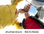 young friends in the country | Shutterstock . vector #86314666