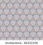 vector doodle cute seamless... | Shutterstock .eps vector #86322100