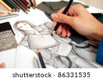 fashion designer | Shutterstock . vector #86331535