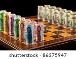Euros And Dollars On Chess...