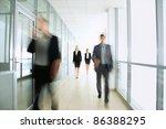 business people in modern office | Shutterstock . vector #86388295