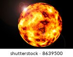 a graphically rendered image of ... | Shutterstock . vector #8639500