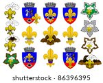 scout badge | Shutterstock .eps vector #86396395