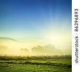 morning fog | Shutterstock . vector #86396893