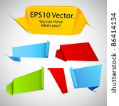 vector illustration of modern... | Shutterstock .eps vector #86414134