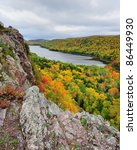 Lake of the clouds , Porcupine Mountains State Park , USA