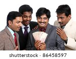 indian business people posing... | Shutterstock . vector #86458597