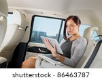 attractive executive female... | Shutterstock . vector #86463787