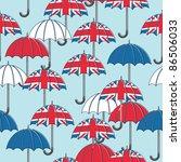 Seamless Pattern With Umbrellas ...
