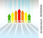 success graph - stock photo