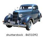 1935 dodge du series | Shutterstock . vector #8651092