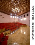 interior of a conference hall | Shutterstock . vector #86512321