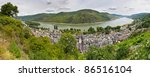 The Town Of Bacharach Along Th...