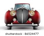 beautiful detailed vintage car...   Shutterstock .eps vector #86524477