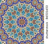 Kaleidoscopic Mosaic Wall