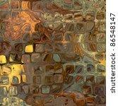 art abstract golden tiles...   Shutterstock . vector #86548147