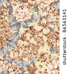 floral background   element for ... | Shutterstock . vector #86563141
