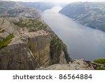 Pulpit Rock At Lysefjorden ...