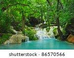 erawan waterfall | Shutterstock . vector #86570566