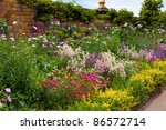 English Herbaceous Garden Border