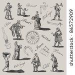 village illustration   Shutterstock . vector #86572909