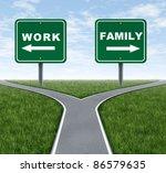 work or family symbol... | Shutterstock . vector #86579635
