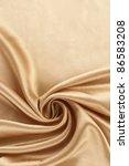 Golden Silk Textile Background