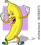 top banana | Shutterstock .eps vector #86584072
