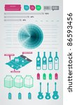 infographics element icons and... | Shutterstock .eps vector #86593456