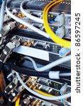 telecommunication equipment of... | Shutterstock . vector #86597245