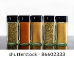 Vivid Variety Of Spices In...