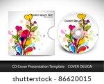 cd cover presentation design...