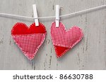Two Handmade Hearts On Line