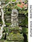 religious figure in bali... | Shutterstock . vector #86639290