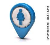 female icon | Shutterstock . vector #86645245