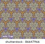 vector doodle cute seamless... | Shutterstock .eps vector #86647966